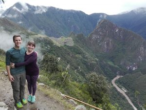 Inca Trail with tourists