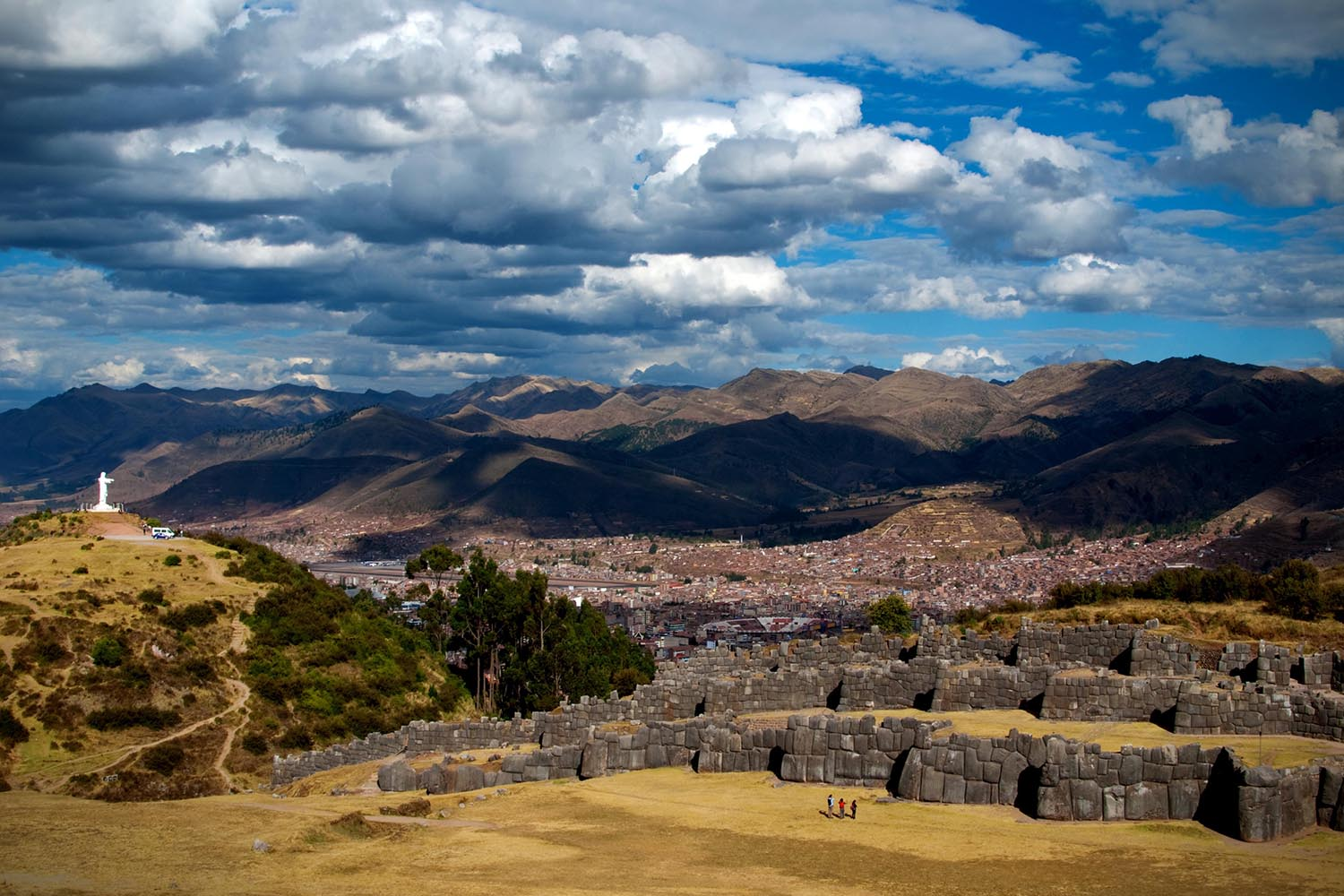 Sacsayhuaman Fortress in Cuzco
