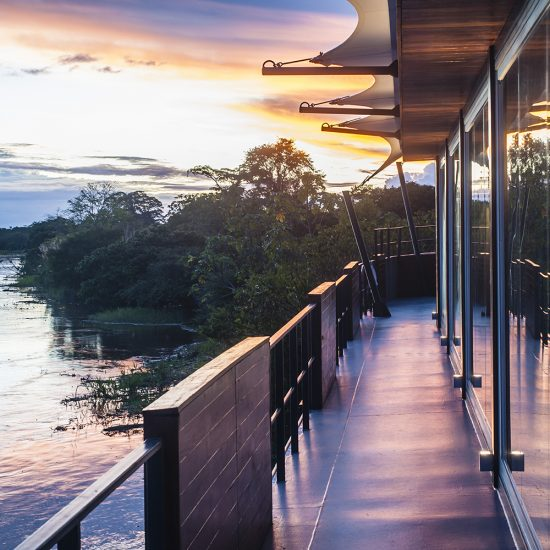 Amazon Cruise Observation Deck