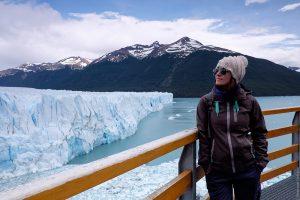 Perito Moreno & Tourist