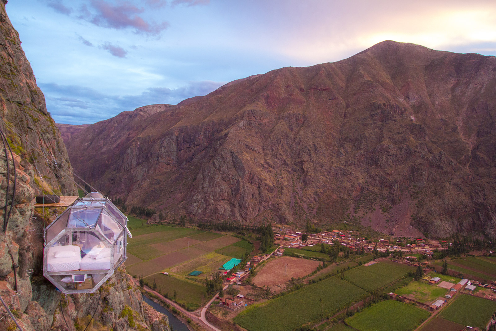 Sacred Valley view
