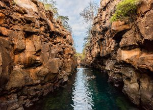 Galapagos Islands Canal