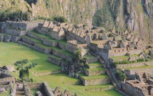 Mountain houses at Machu Picchu
