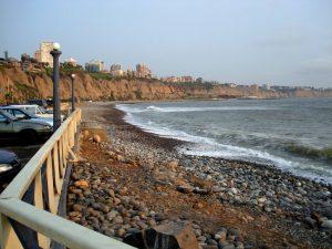 Makaha beach view